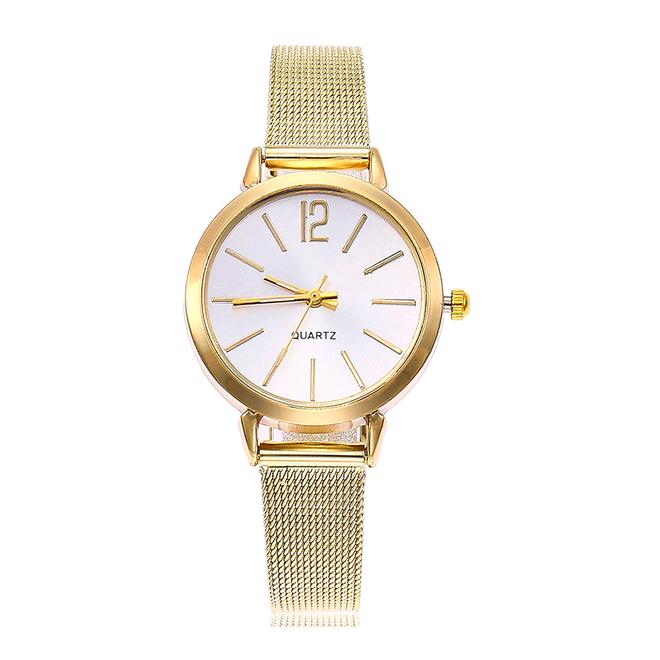 Blanche Gold / White Horloge