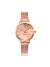 Fashion Favorite Blanche Rose / White Horloge