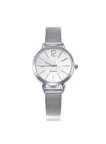 Fashion Favorite Blanche Silver / White Horloge