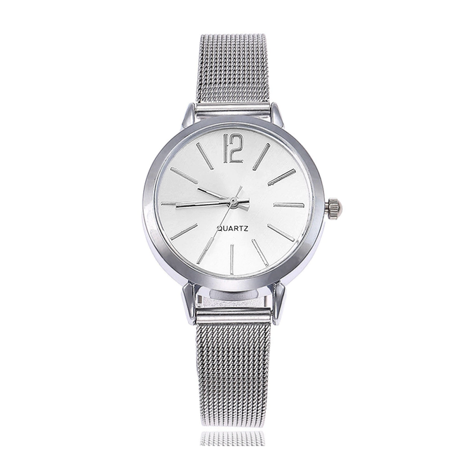 Blanche Silver / White Horloge