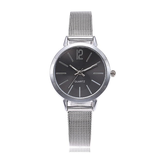 Blanche Silver / Black Horloge