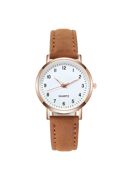 Fashion Favorite Doukou Brown Horloge