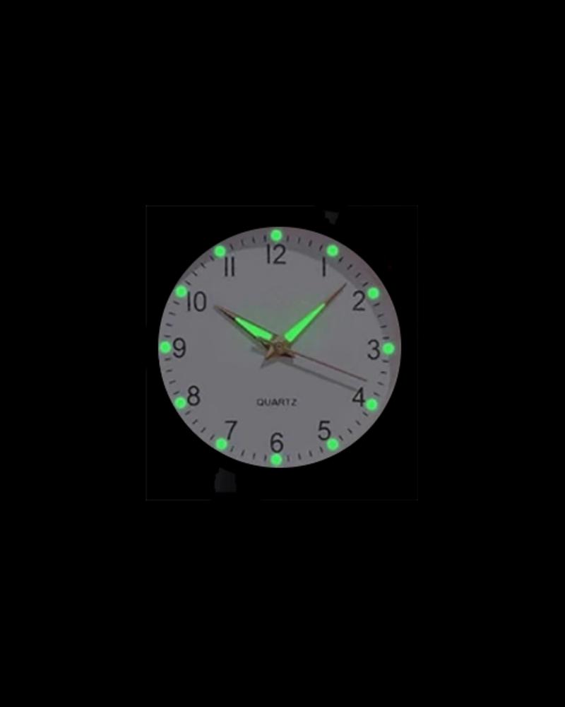 Fashion Favorite Doukou Brown Horloge | Suedine - Kunstleer | Bruin | Ø 32,5 mm