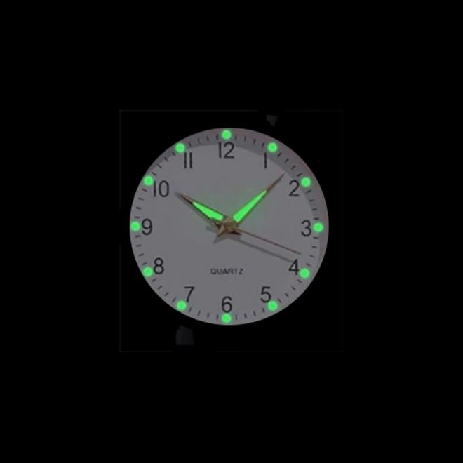 Doukou Grey Horloge   Suedine - Kunstleer   Grijs   Ø 32,5 mm