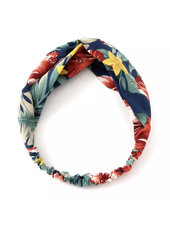 Fashion Favorite Haarband Blue Flowers