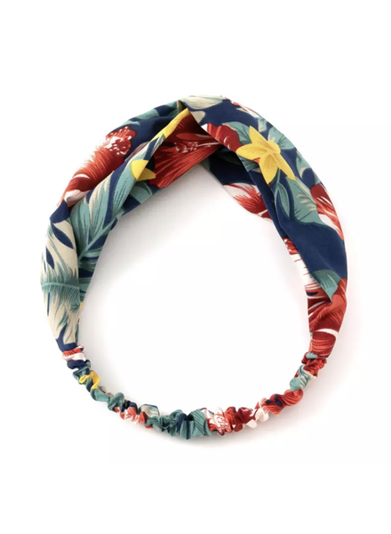 Fashion Favorite Haarband Blue Flowers