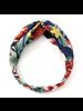 Fashion Favorite Haarband Blue Flowers | Bloemen | Elastische Bandana | Fashion Favorite