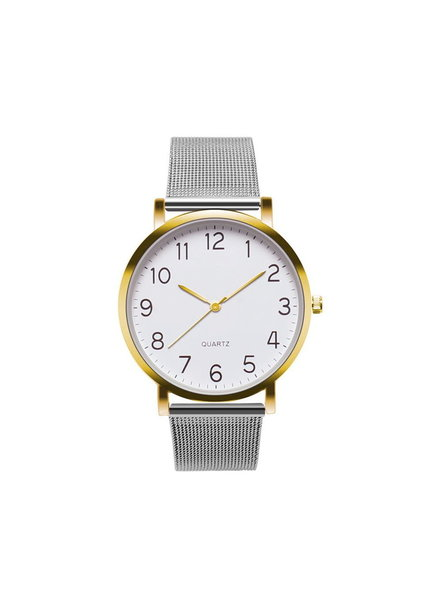 Fashion Favorite Nero Horloge Zilver / Goud