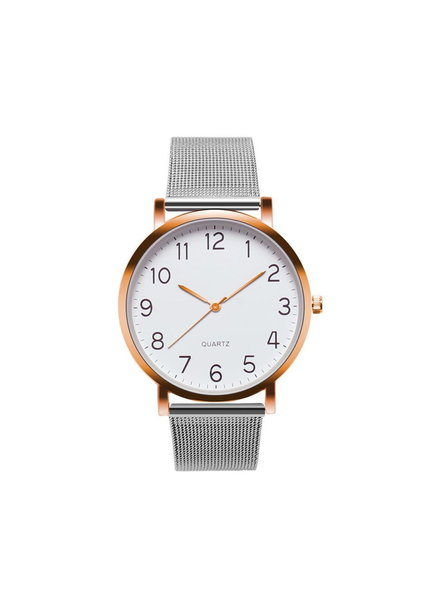 Fashion Favorite Nero Horloge Zilver / Rose