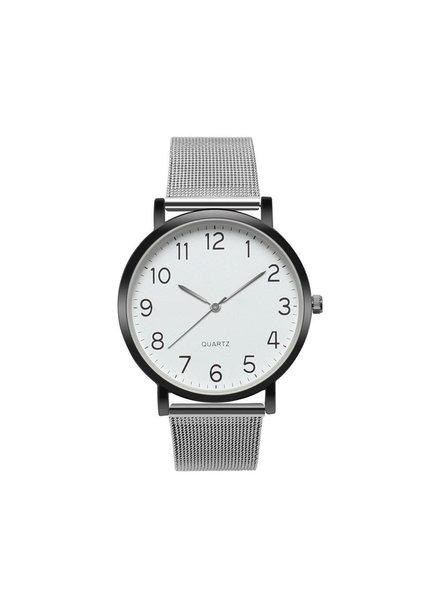 Fashion Favorite Nero Horloge Zilver / Zwart