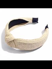Fashion Favorite Ibiza Beach Haarband / Boho Knot Ecru