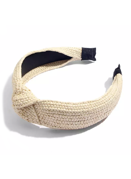 Fashion Favorite Ibiza Beach Haarband / Diadeem | Boho Knot Ecru