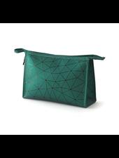 Fashion Favorite Toilettas Geometric Groen - Groot