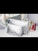 Fashion Favorite Toilettas Geometric Zilver - Groot
