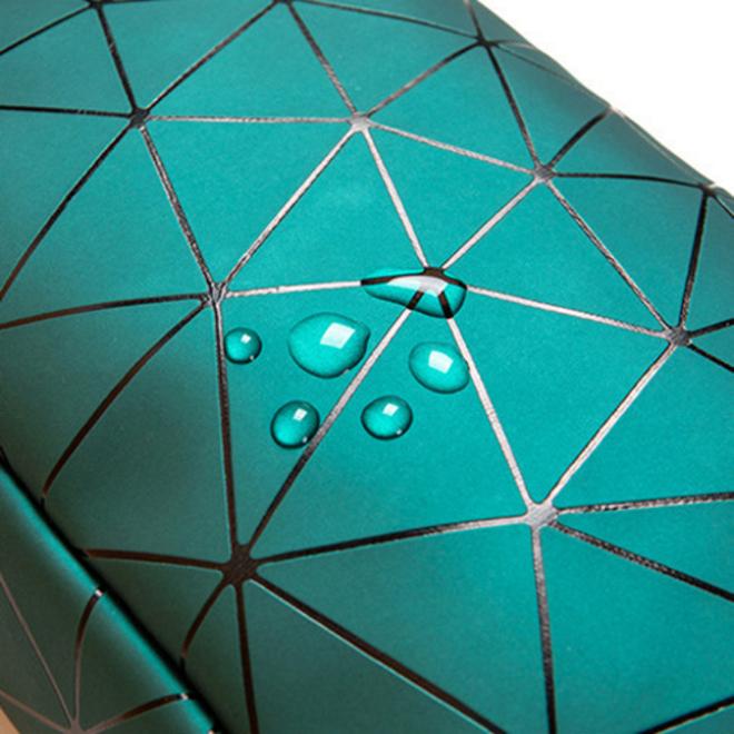Toilettas Geometric Groen - Klein