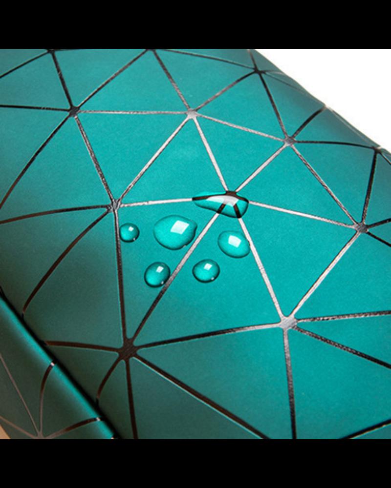Fashion Favorite Toilettas Geometric Groen - Klein