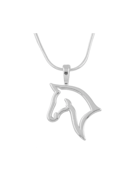 Fashion Favorite Paard Ketting - Zilver