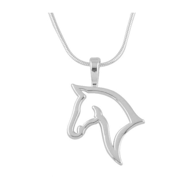 Paard Ketting - Zilver