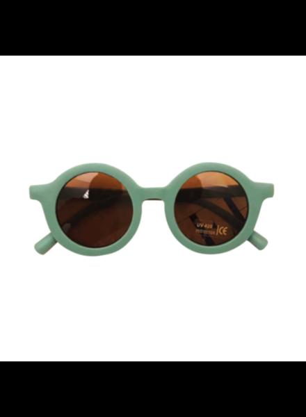 Fashion Favorite Kinder Zonnebril - Mat Groen