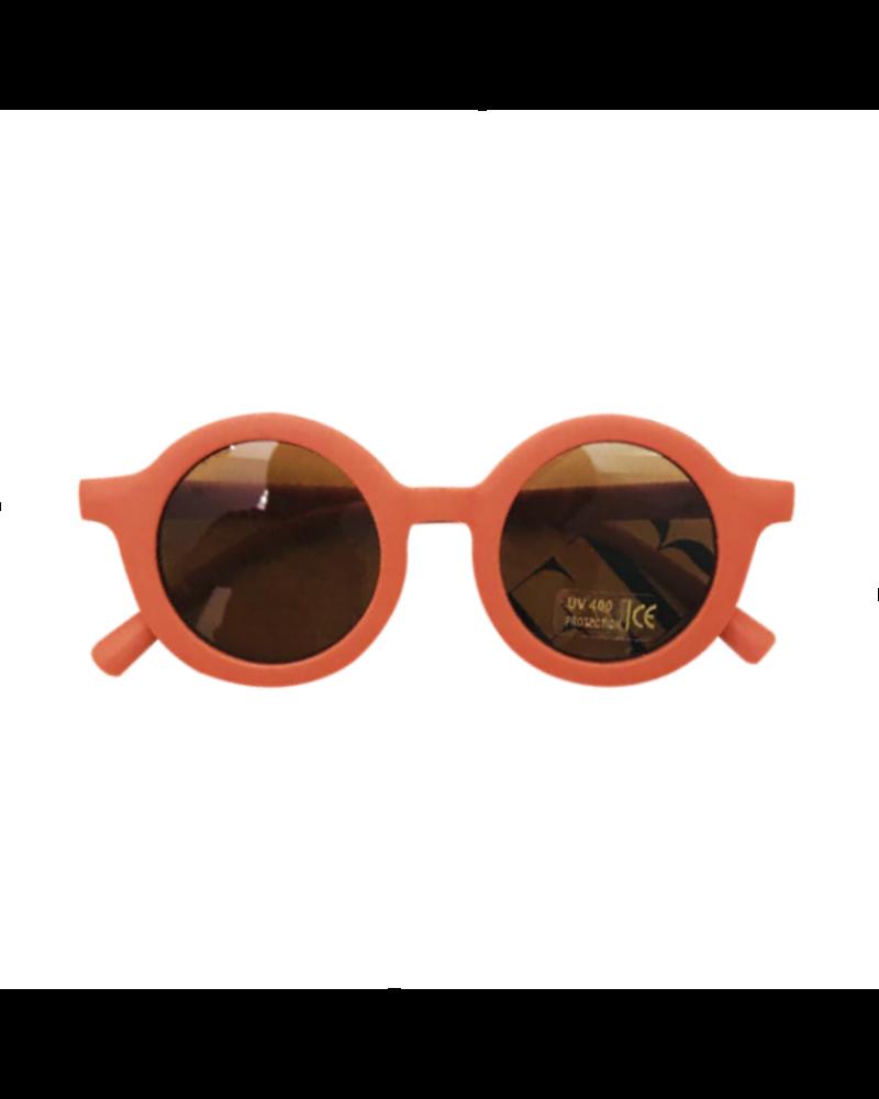 Fashion Favorite Kinder Zonnebril - Mat Oranje - Vintage - UV400