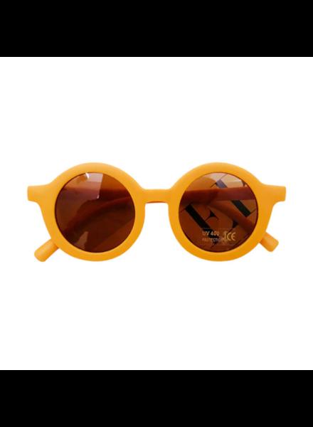 Fashion Favorite Kinder Zonnebril - Mat Okergeel