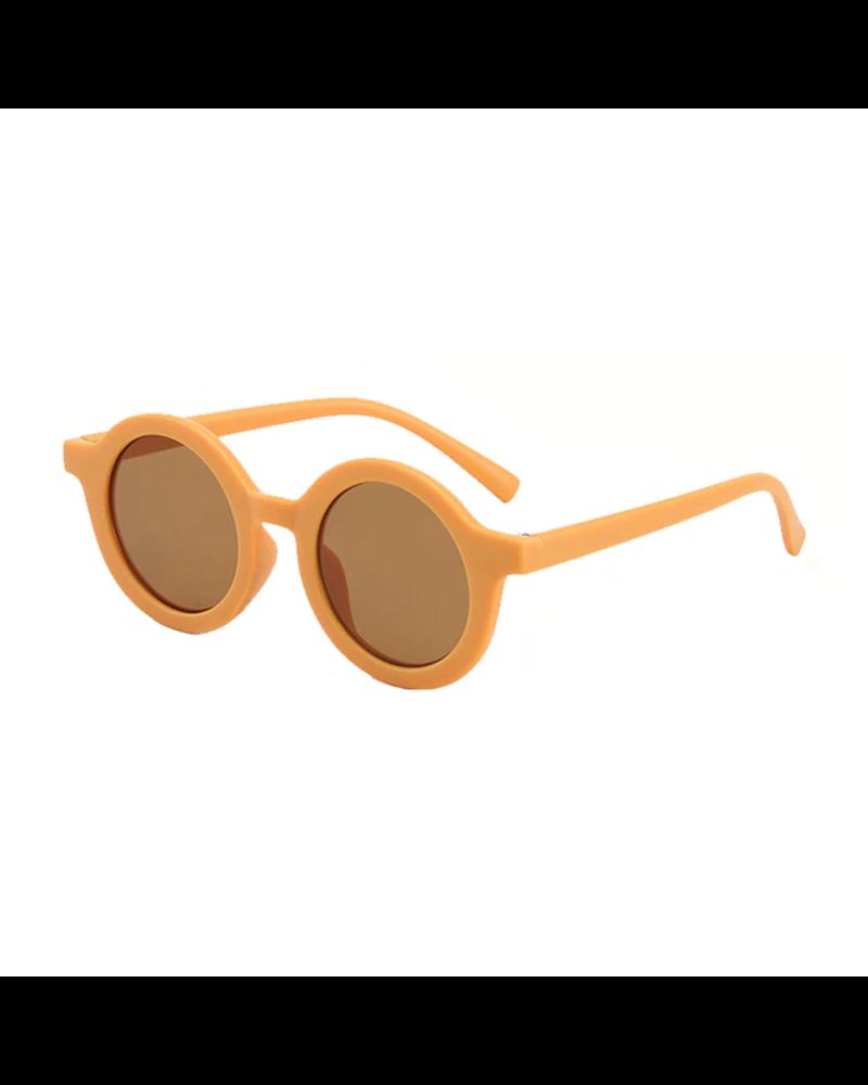 Fashion Favorite Kinder Zonnebril - Mat Creme - Vintage - UV400