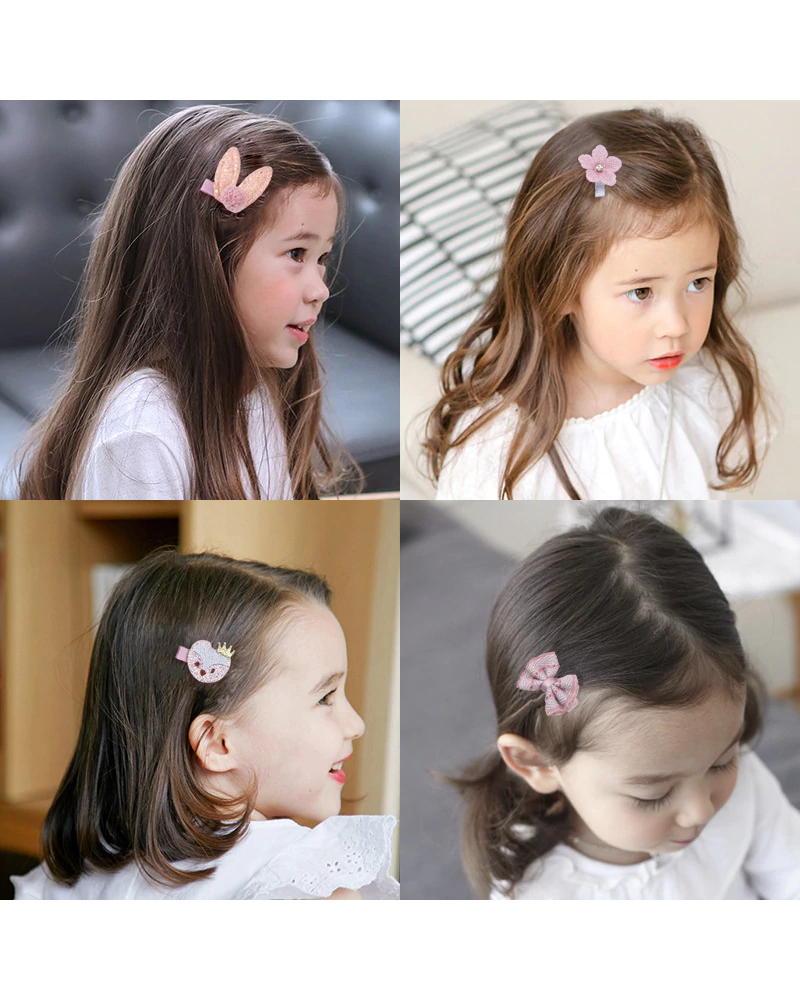 Fashion Favorite Kinder Elastiekjes Set - Roest   Fashion Favorite