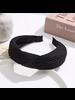Fashion Favorite Knitted Diadeem - Zwart