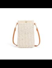 Fashion Favorite Smartphone Tasje - Stro / Riet Creme