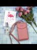 Fashion Favorite Smartphone Tasje - Oudroze | Kunstleer