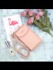 Fashion Favorite Smartphone Tasje - Roze | Kunstleer
