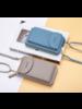 Fashion Favorite Smartphone Tasje - Grijs | Kunstleer