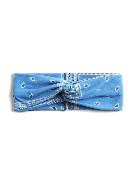 Fashion Favorite Haarband Paisley Lichtblauw