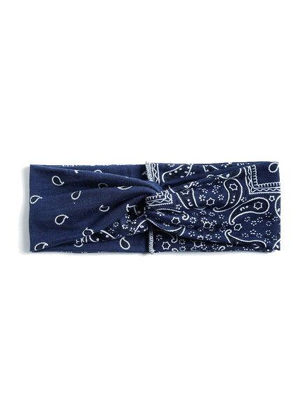 Fashion Favorite Haarband Paisley Donkerblauw