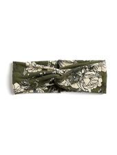 Fashion Favorite Haarband Flower Groen/Beige