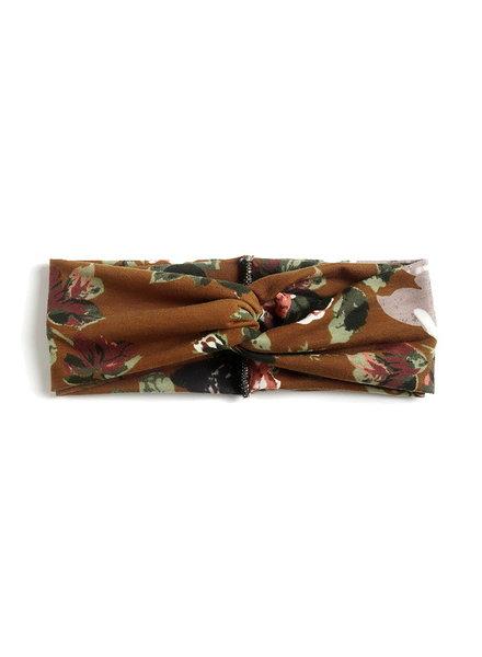 Fashion Favorite Haarband Classic Flower Bruin