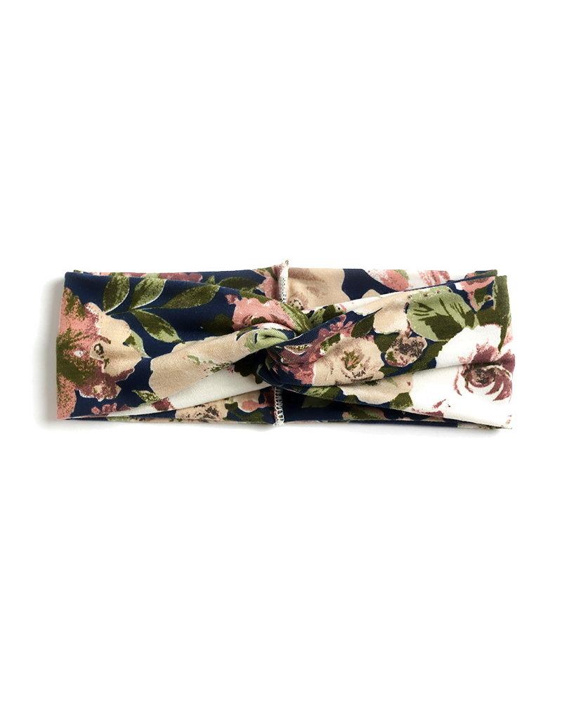 Fashion Favorite Haarband Classic Flower Blauw