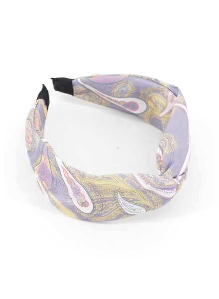 Fashion Favorite Paisley Haarband / Diadeem Lila