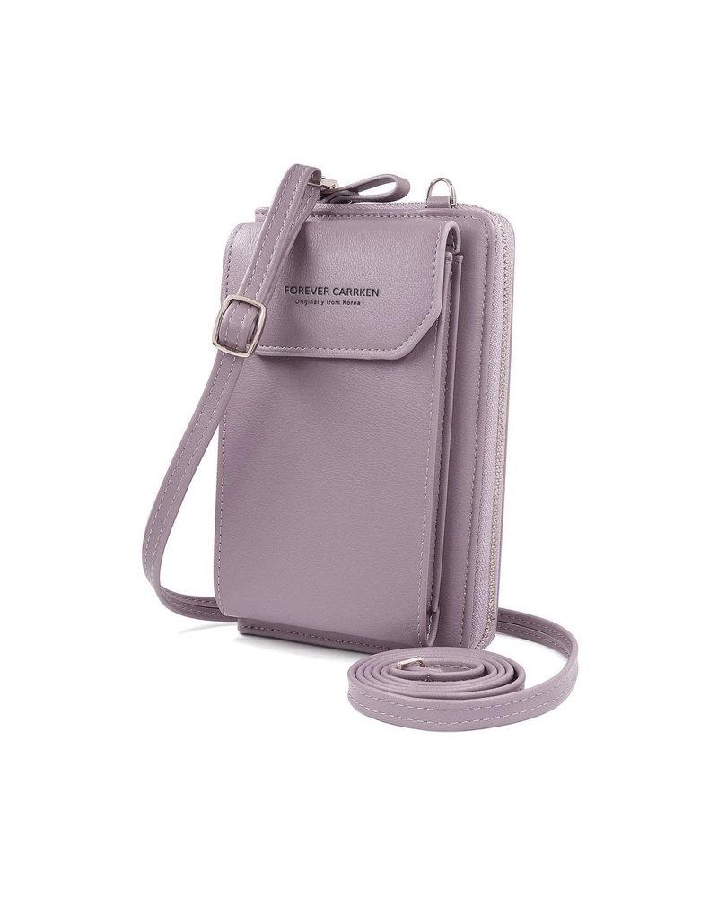 Fashion Favorite Smartphone Tasje - Lila   Kunstleer