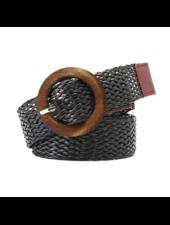 Fashion Favorite Vintage Riem | Gevlochten Zwart