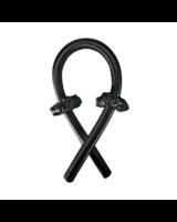 Fashion Favorite Haarkruller   Hair Ribbon Zwart