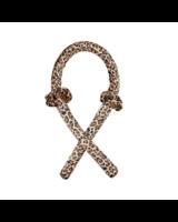 Fashion Favorite Haarkruller   Hair Ribbon Leopard