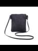 Fashion Favorite Rotan Tasje - Zwart   Telefoontasje / Strandtasje