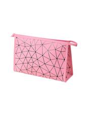 Fashion Favorite Toilettas Geometric Roze - Groot