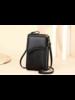 Fashion Favorite Smartphone Tasje - Ferron Zwart  | Kunstleer
