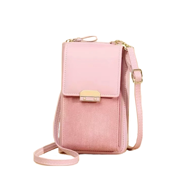 Smartphone Tasje - Lux Roze