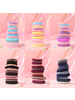 Fashion Favorite Haar Elastiek Set - Blauw/Roze   12 stuks   Fashion Favorite