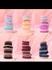 Fashion Favorite Haar Elastiek Set - Paars/Roze   12 stuks   Fashion Favorite