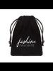 Fashion Favorite Zonnebril Ketting / Brillenkoord | Black Balls | Zwart/Goudkleurig | 76 cm