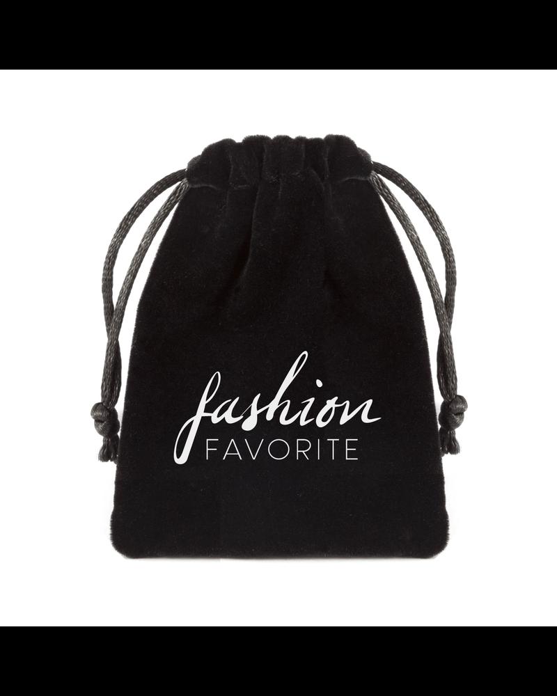 Fashion Favorite Zonnebril Ketting / Brillenkoord | Arrow - Veer | Rosekleurig | 72 cm